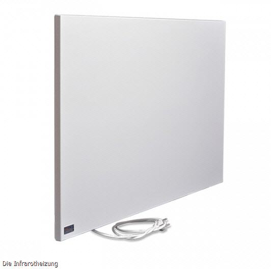 infranomic infrarotheizung steel line 600 w deckenheizung. Black Bedroom Furniture Sets. Home Design Ideas