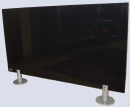 infranomic infrarot glasheizung 600 w rahmenlos infrarot glasheizungen. Black Bedroom Furniture Sets. Home Design Ideas