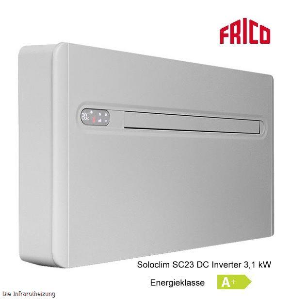 frico soloclim sc23 dci inverter 3 1 kw klimager t sofort kaufen. Black Bedroom Furniture Sets. Home Design Ideas